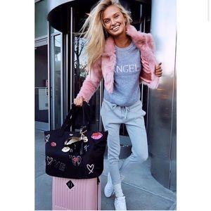Victoria's Secret Angel 100% Cashmere Sweater Grey